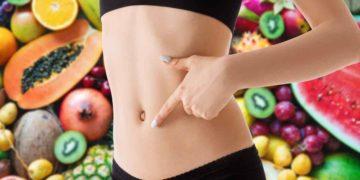 Sigue una dieta saludable para lucir un abdomen plano