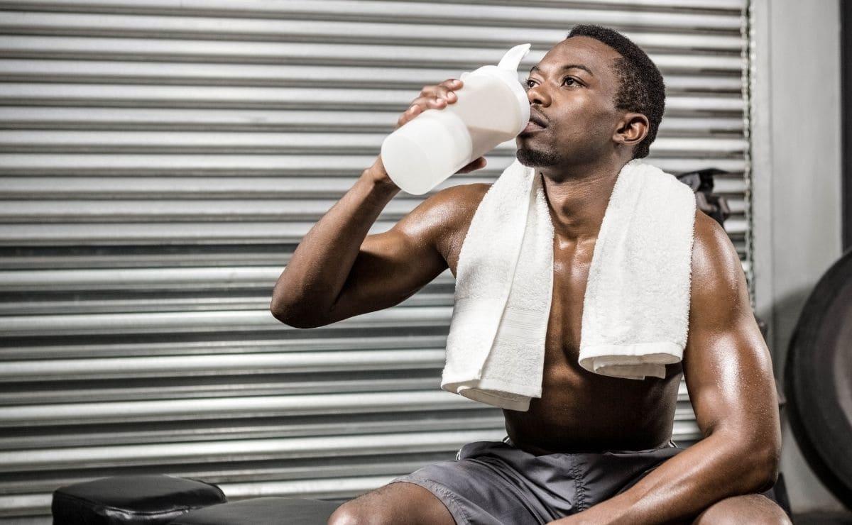 Beber proteínas