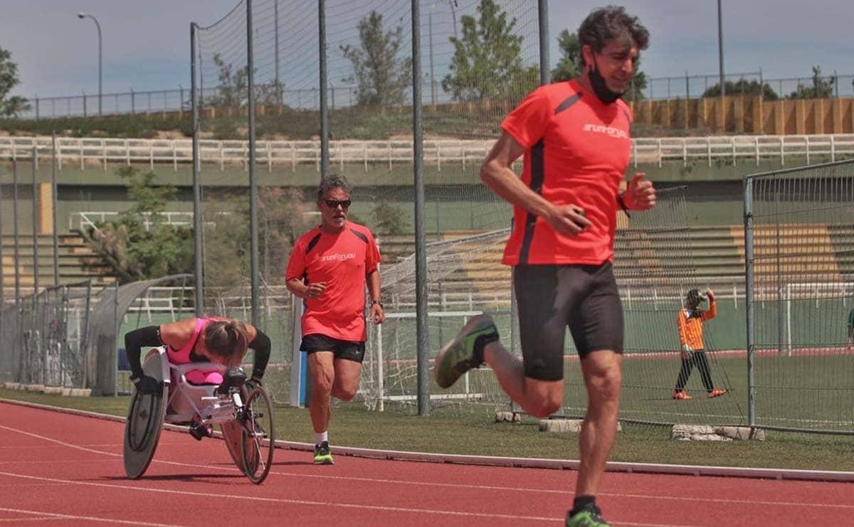 Carmen Giménez atleta con discapacidad Run for you