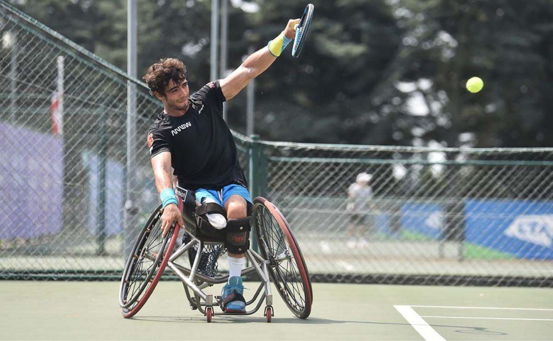 Daniel Caverzaschi juegos paralimpicos tenis