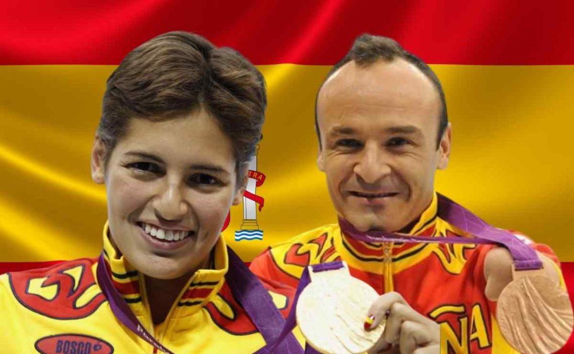 Michelle Alonso y Ricardo Ten, abanderados de España en los Juegos Paralímpicos de Tokio 2020