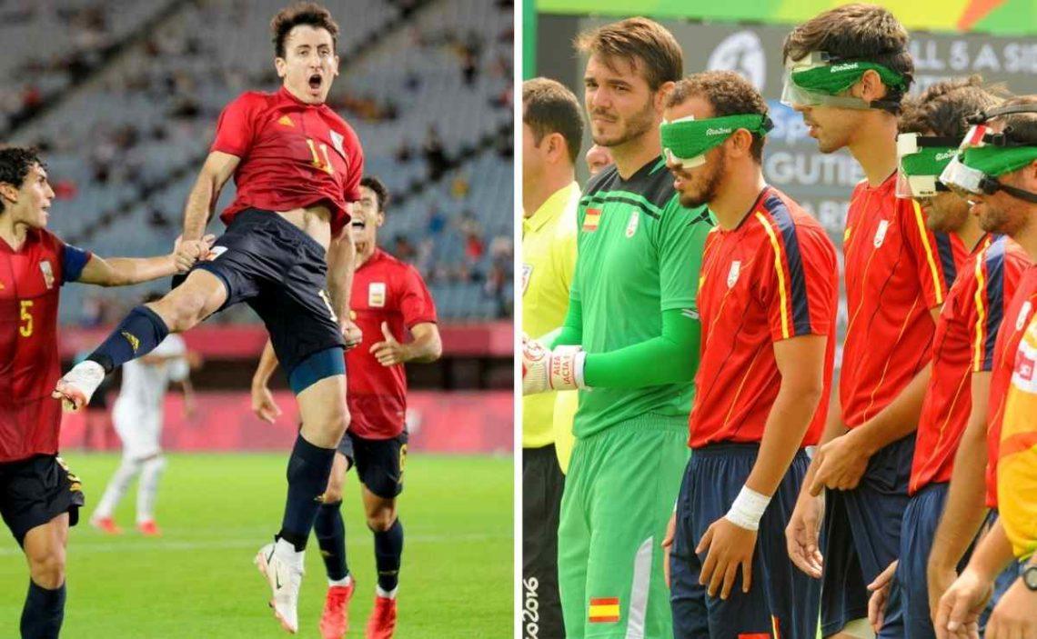Diferencias entre el fútbol-5 para ciegos en los Juegos Paralímpicos y el fútbol