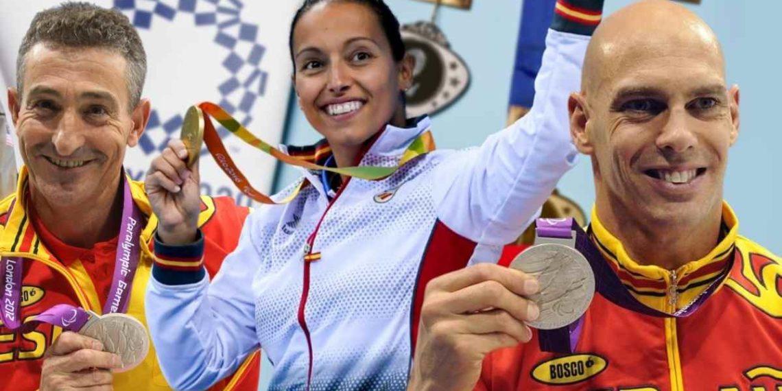Juegos Paralímpicos | Sebastián Rodríguez, Teresa Perales y Richard Uribe, deportistas paralímpicos