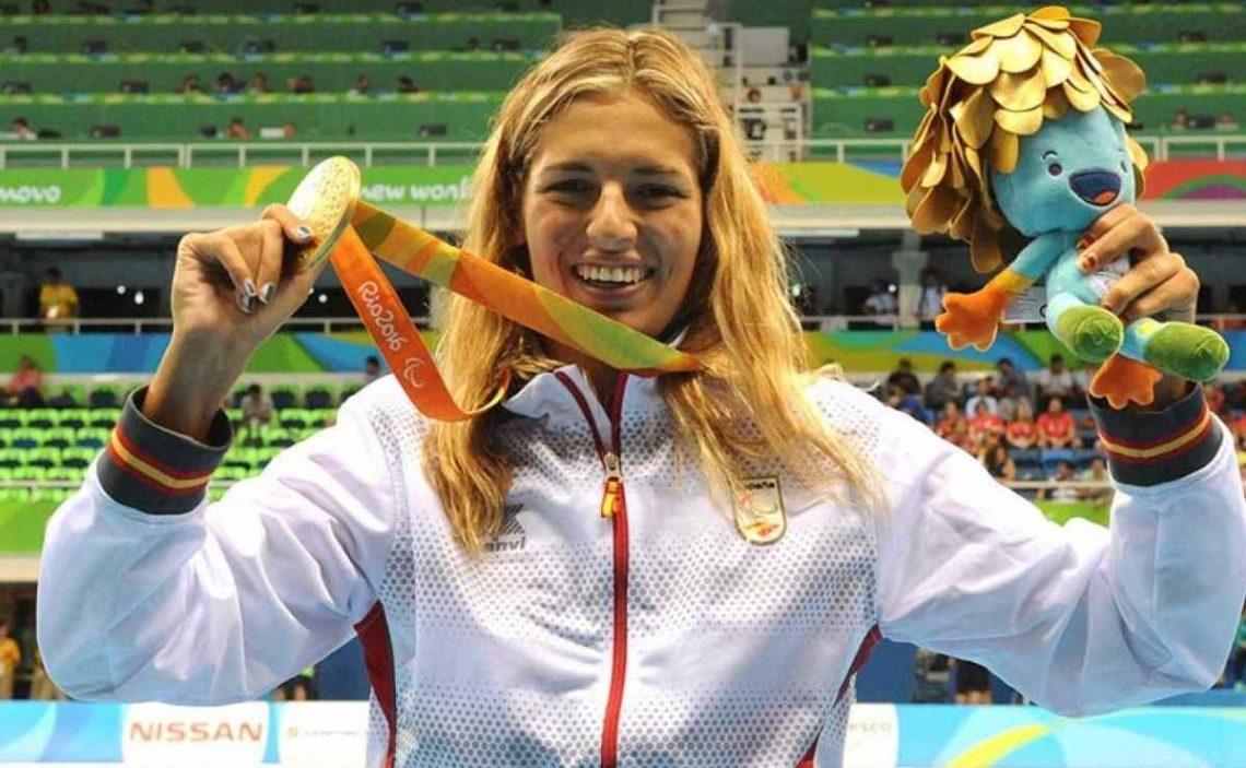 Michelle Alonso, medalla de oro en Río 2016, revalida el metal en los Juegos Paralímpicos de Tokio 2020