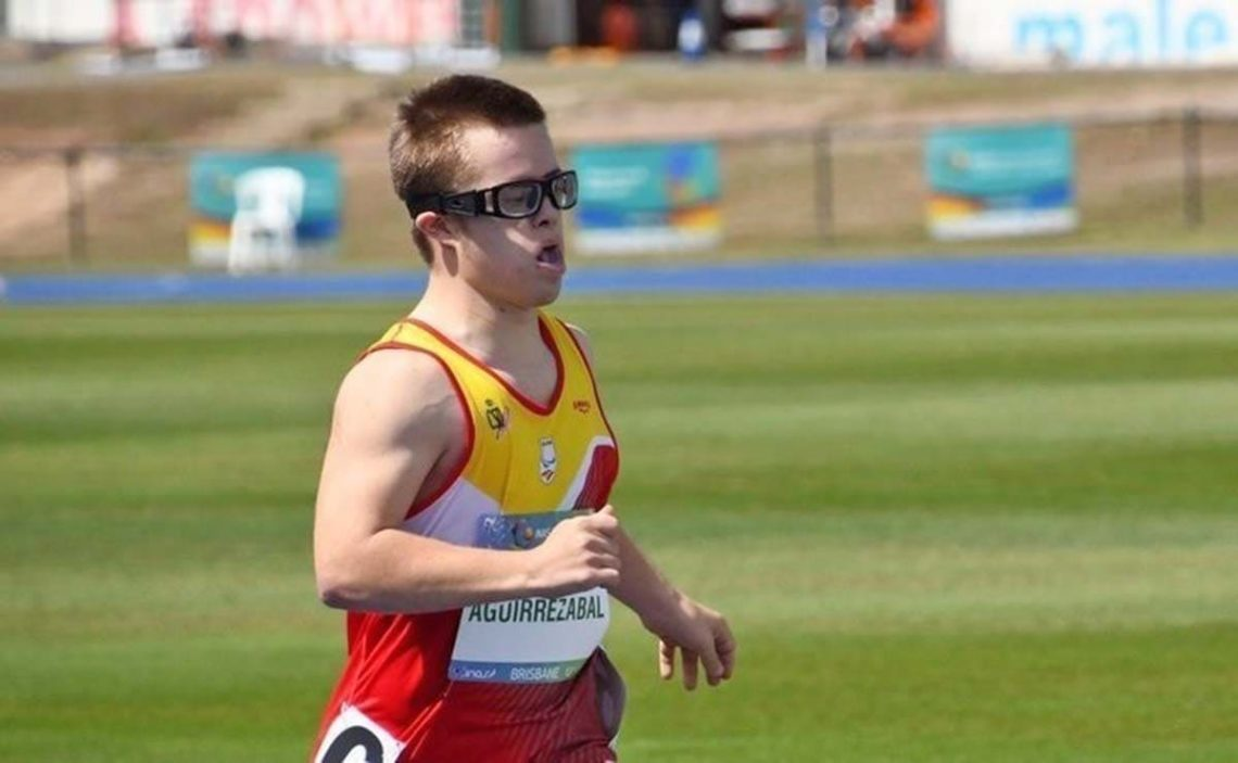 Mikel atleta con discapacidad Juegos Paralimpicos