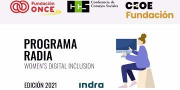 Programa RADIA, edición Indra 21 22 mujeres con discapacidad