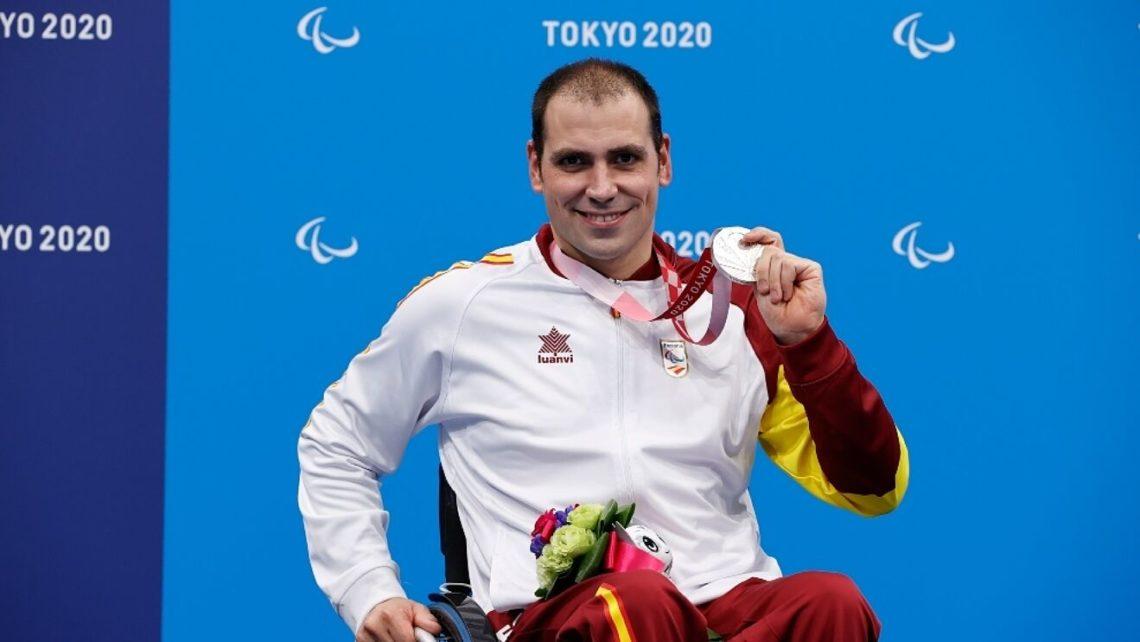 Toni Ponce, medalla de plata en los Juegos Paralímpicos de Tokio 2020