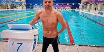 Xavi Torres, nadador que representará a España en los Juegos Paralímpicos de Tokio 2020