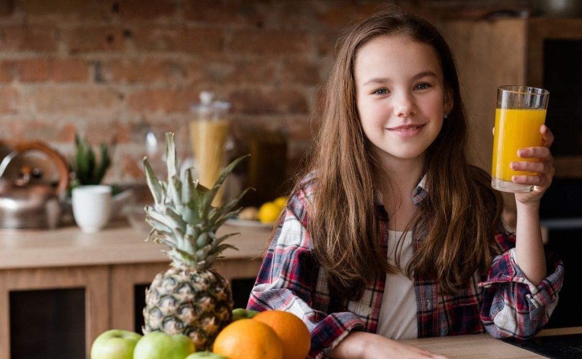 dieta sana niño comer fruta