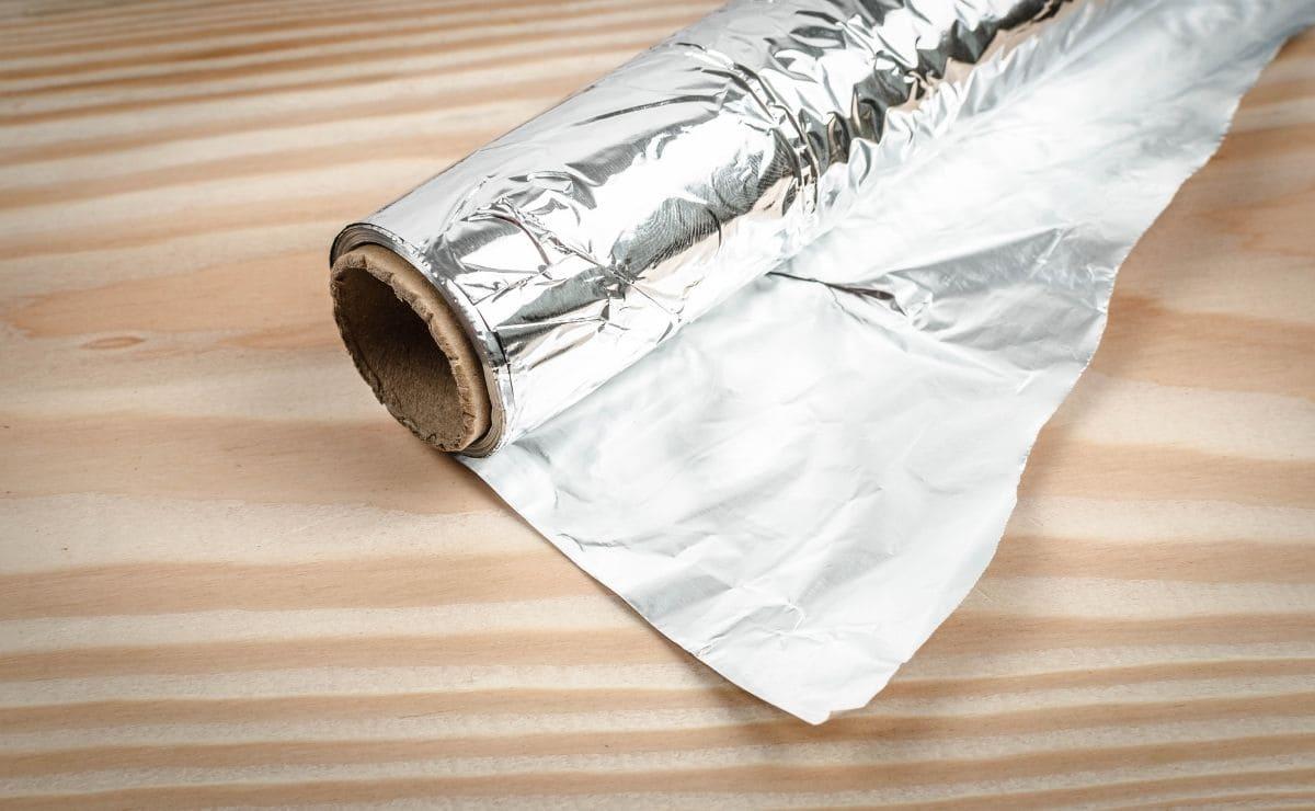 papel aluminio lavadora