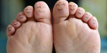 piel pies bicarbonato de sodio
