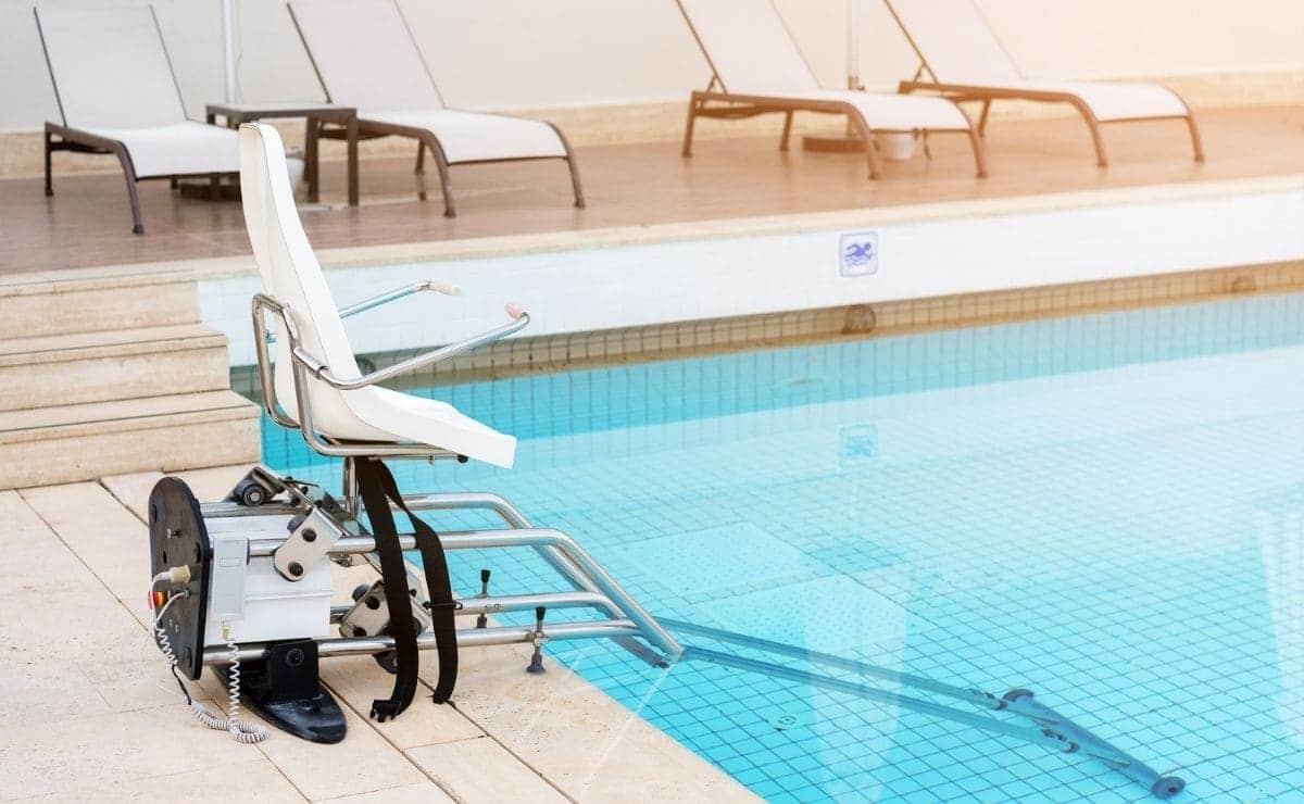 piscina accesible accesibilidad personas con discapacidad movilidad reducida