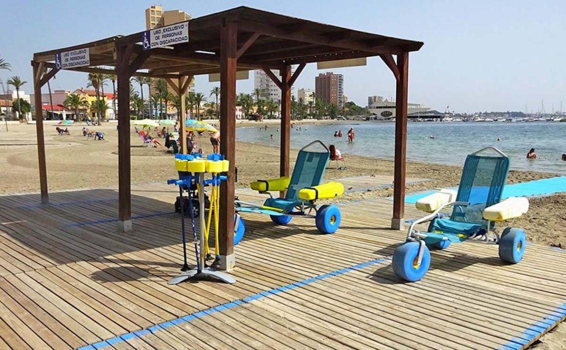 playas accesibles Murcia