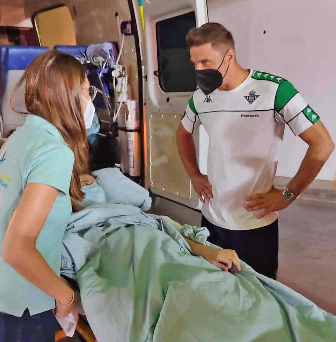 Ambulancia del deseo Betis Granada Miguel joaquin