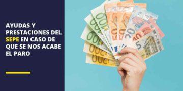 El SEPE aclara las ayudas y prestaciones que podemos cobrar cuando se acaba el paro