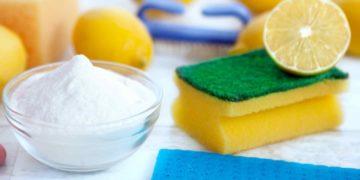 El truco infalible para limpiar azulejos con bicarbonato de sodio y limón