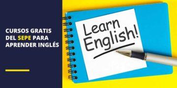 Cursos gratis de inglés del SEPE