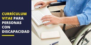 Empleo currículum vitae persona con discapacidad