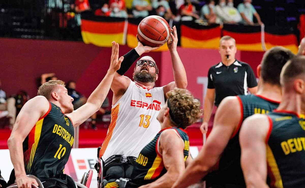 Selección española de baloncesto e silla de ruedas