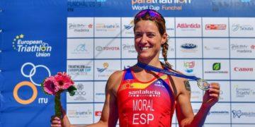 Eva Moral medalla de oro