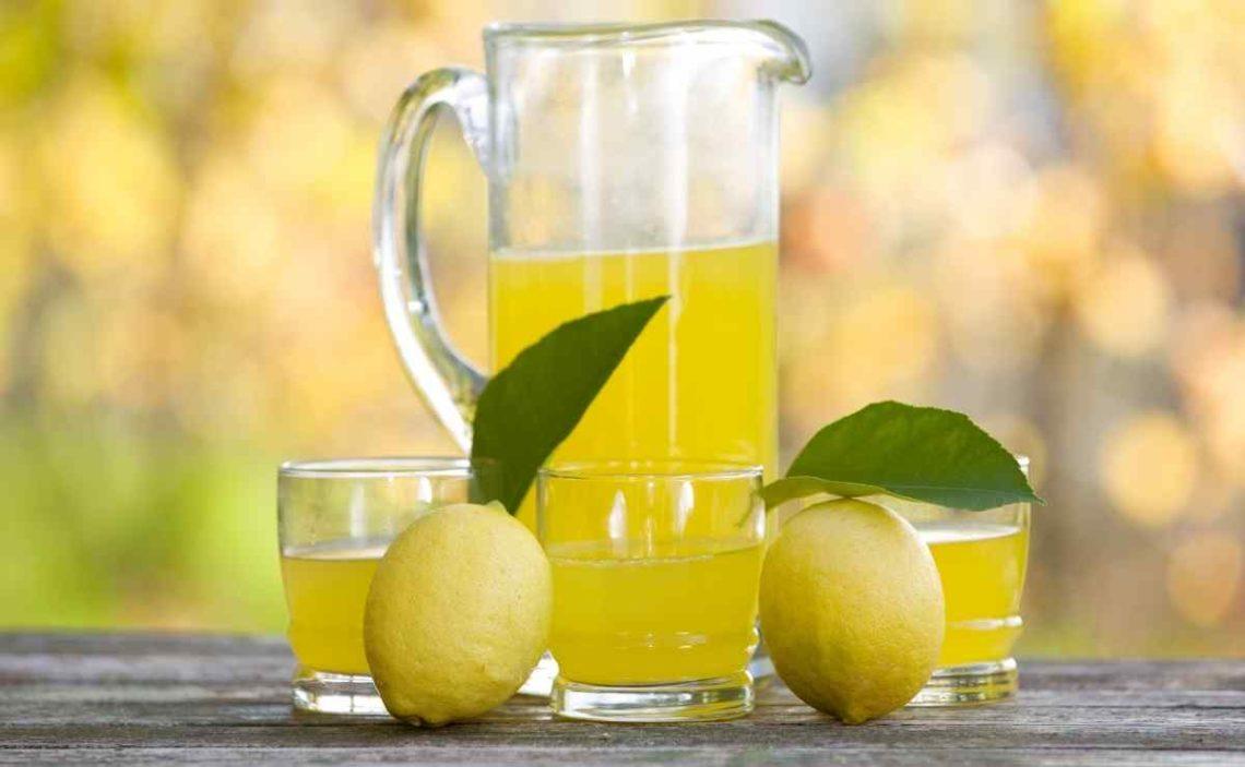 Remedio casero de jugo de limón