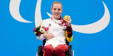 Marta Fernandez medalla oro Juegos Paralimpicos Tokio 2020