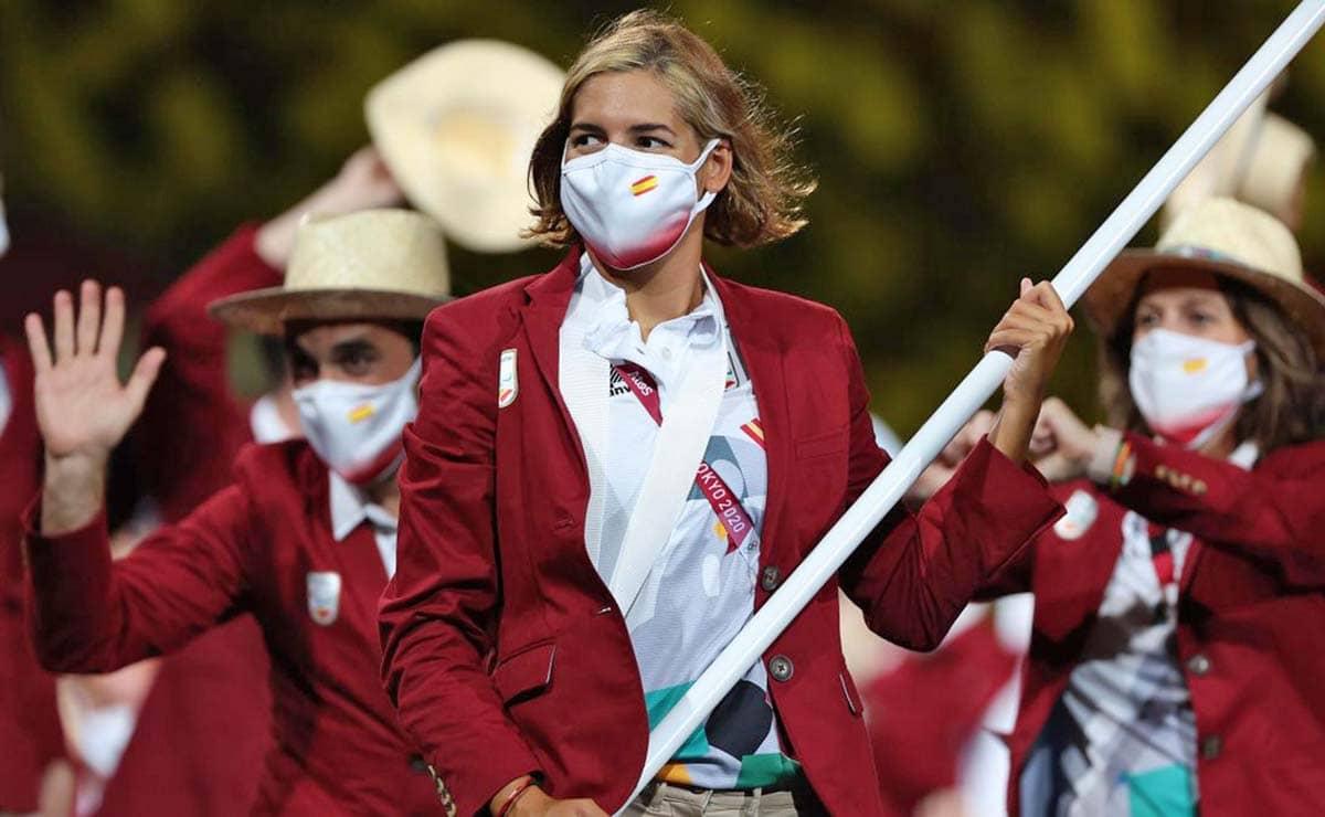 Michelle Alonso abanderada España Juegos Paralimpicos Tokio 2020