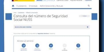 Número Seguridad Social