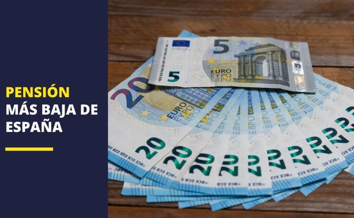 Pensión baja España