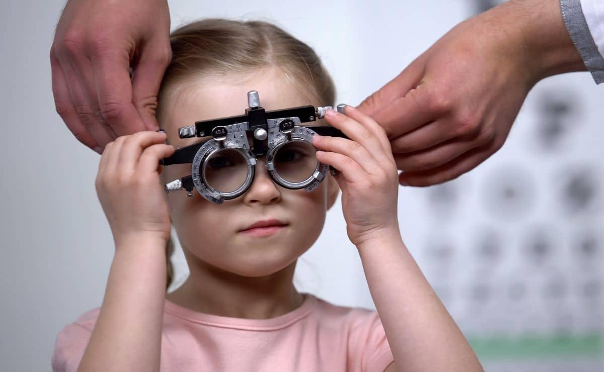 Problemas de visión niños