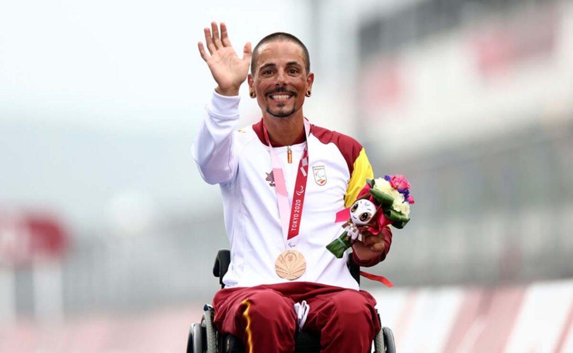 Sergio Garrote bronce Juegos Paralímpicos Tokio 2020