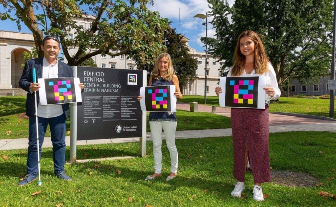 accesibilidad Universidad de Navarra NaviLens
