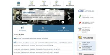 accesibilidad página web seguridad social