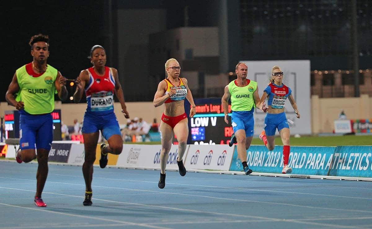 atletismo paralimpico deporte inclusivo primeros juegos inclusivos sanitas