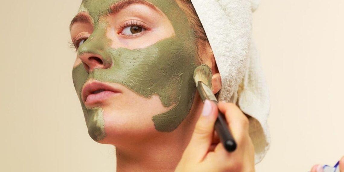 mascarilla te verde