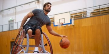 silla de ruedas baloncesto