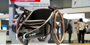 silla de ruedas del futuro ren chair Basf