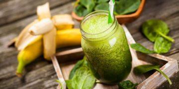 smoothie verde ayunas organismo