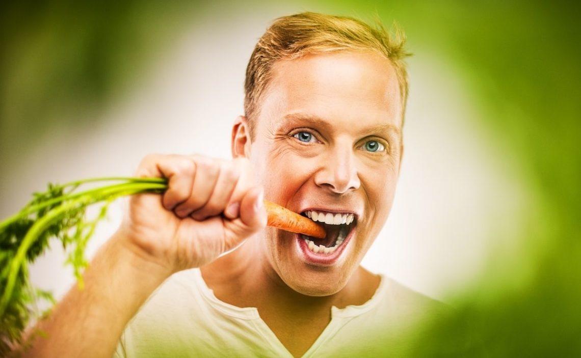 zanahoria visión vitamina A