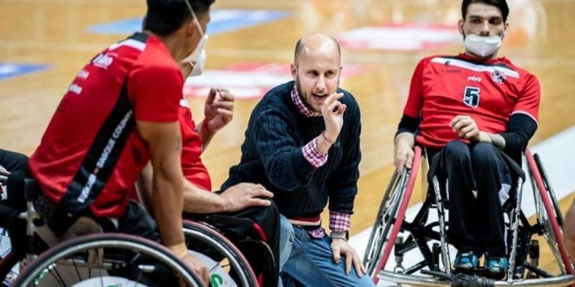 Adrian Yanez seleccion femenina baloncesto silla de ruedas