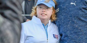 Amy Bockerstette golfista con síndrome de Down