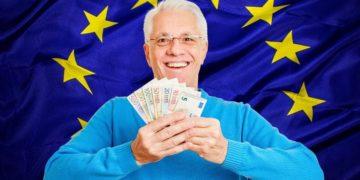 Pensión jubilación Unión Europea