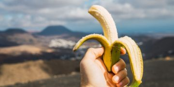 Potasio plátano