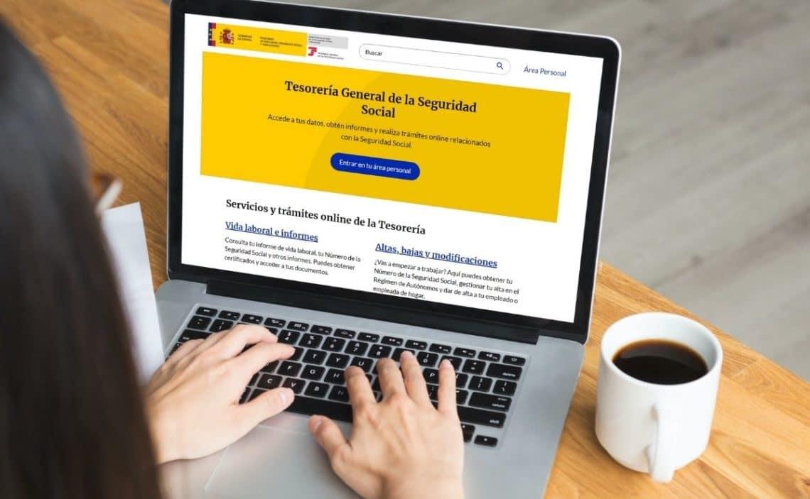 Seguridad Social portal Import@ss