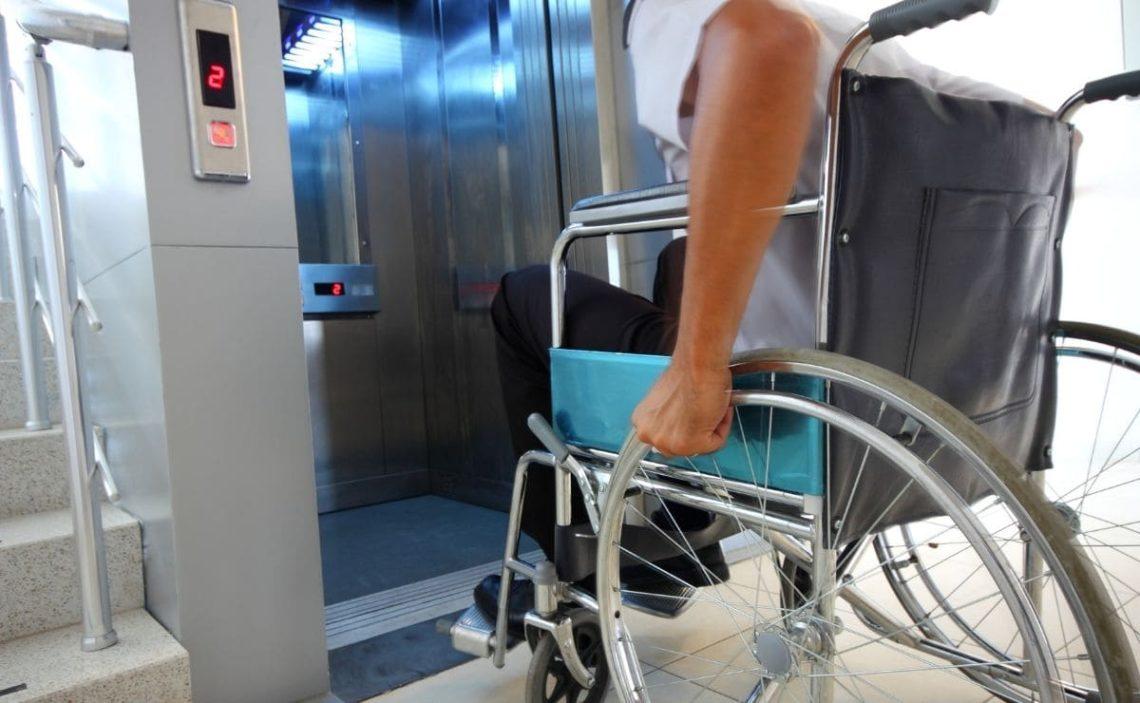 ascensor silla de ruedas accesibilidad Castilla y Leon