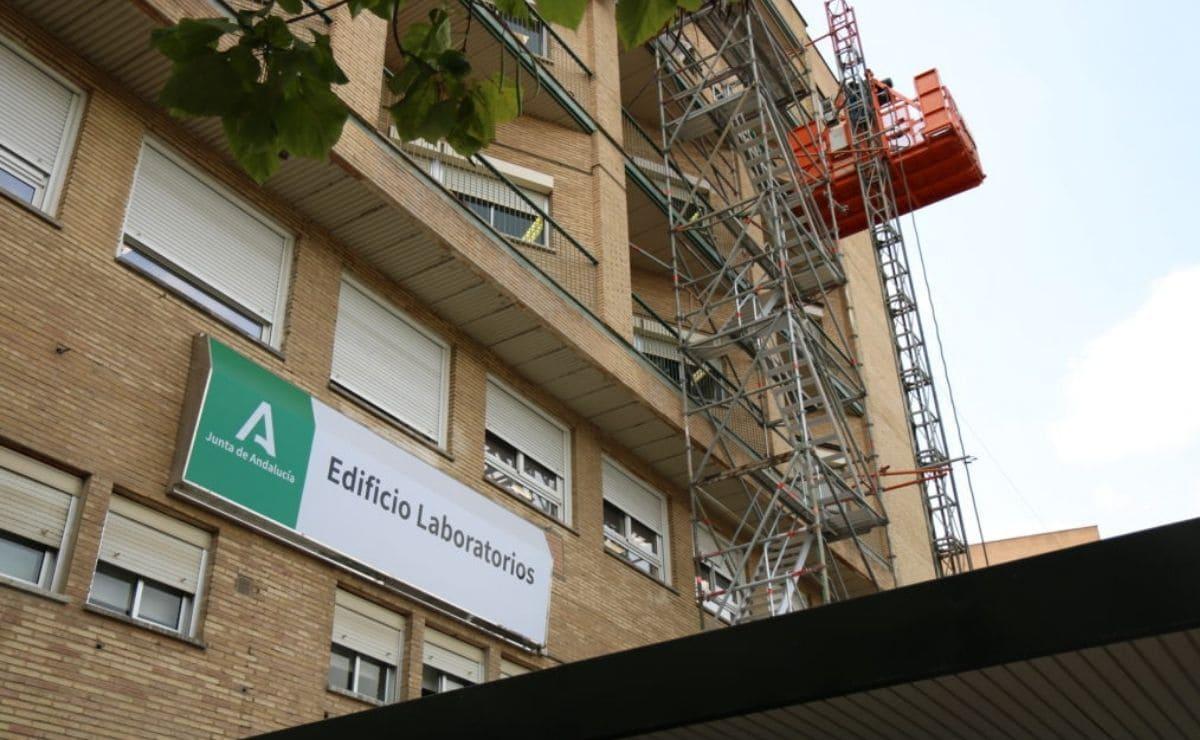 hospital universitario virgen del rocio accesibilidad obras