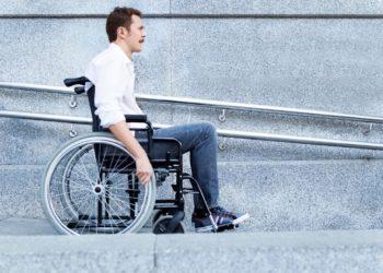 rampa silla de ruedas accesibilidad discapacidad