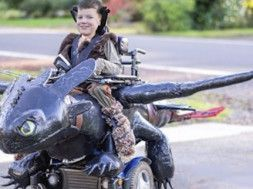 disfraz silla de ruedas halloween