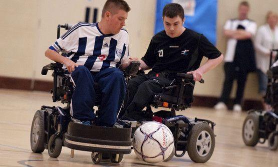 fultbol silla de ruedas