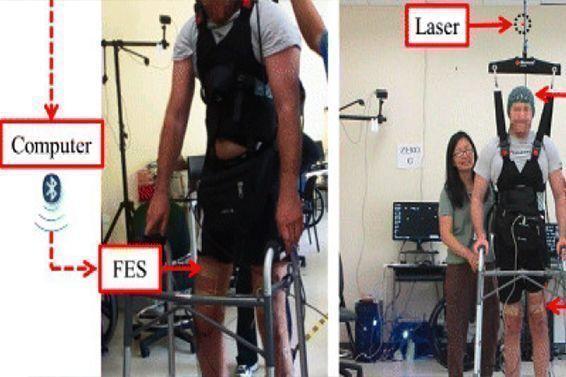 Un hombre vuelve a caminar después de 5 años con paraplejia